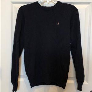 Polo by Ralph Lauren YL navy Crew neck sweater